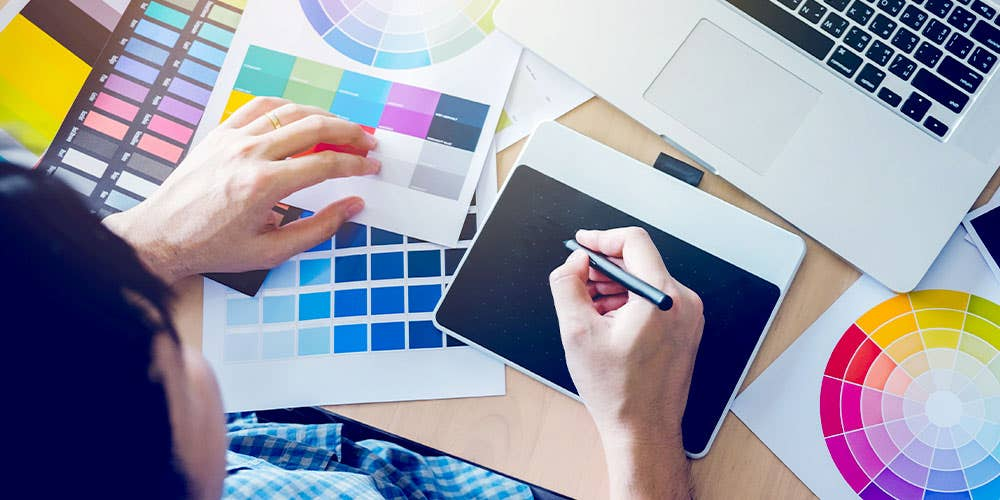 Cover photo for The types of graphic design your business might need