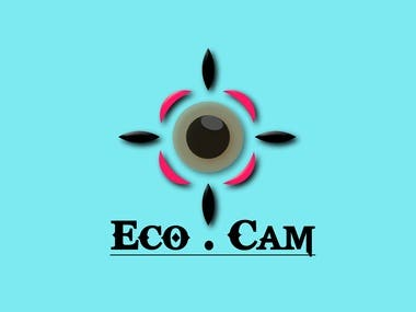 Eco cam is logo icon for camera production company.