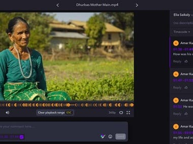 I have contributed to this project as a Nepal Translator and Transcriber. The interview was in Nepali language and requirement was to transcriber the interview in English. I have successfully completed this job within the given deadline.  P.S: The content was hosted on Frame.io