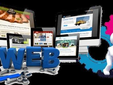 I will make modern web site design.