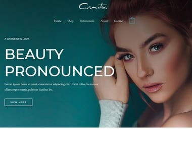 Demo site ( website design )