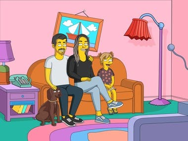 Artist for Simpsons Characters