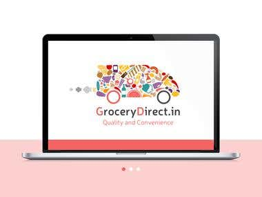It used for www.grocerydirect.in, also for business cards, letter heads, packaging & promotional material. I was thinking mostly about usability and image. Also it's very recognizable, and it's the whole point. It can be use in all shapes of gray and black. It's good for any kind of carving, embroidery and all silhouette work. This logo is very responsive, it can be fill with different types of food and staff, can be shaped in form of different transport, depend on what exactly you delivering. So looking in the future, you can easily develop it in whole corporate identity.