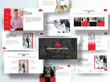 Winning entry for the power point templates