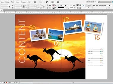 #magazine #newspaper #book #indesign #book layout #grapics design #page layout