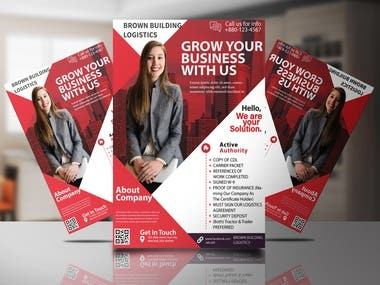 Hello everyone! Here you can see lots of Flyers made by us (ProDESIGNFARM). You will find all type of Flyer here. These Flyers are showcase and especially for sale, or to provide our clients. Thank you!