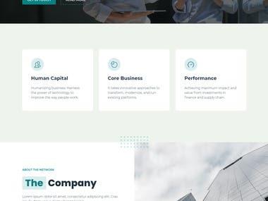 Responsive Protfolio Website