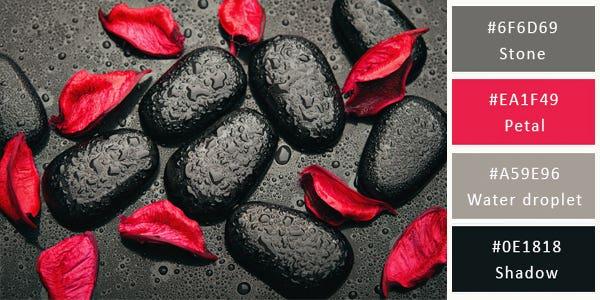 dark color combination - rocks