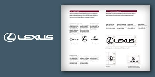 lexus brand guidelines
