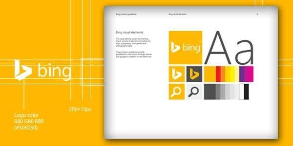 bing brand guidelines