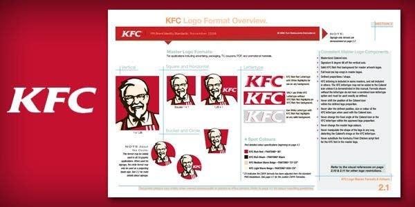 kfc brand guidelines