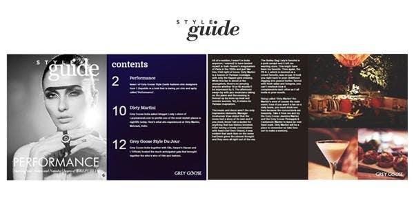 Grey Goose brand guidelines