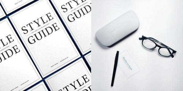 Warby Parker brand guidelines
