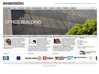 Facility management  http://www.energon.hr  - cms - php - mysql - javascript - banner programme - web design