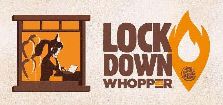 Burger King Lockdown ad
