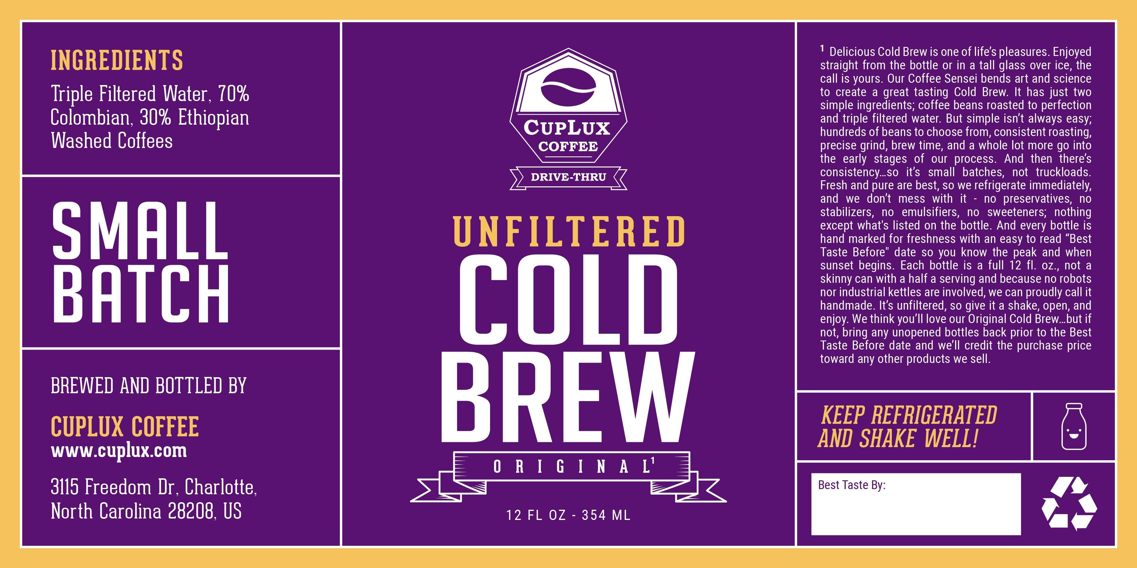 Culpux coffee branding