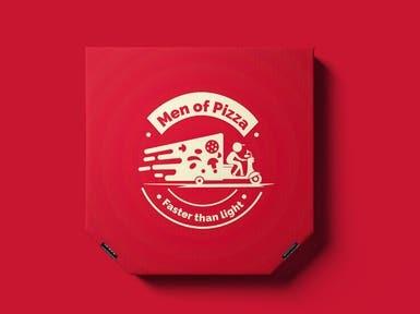 Men of Pizza | Logo Design