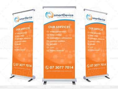 I will Design Outdoor banner with send you files already for you print use for your event etc...