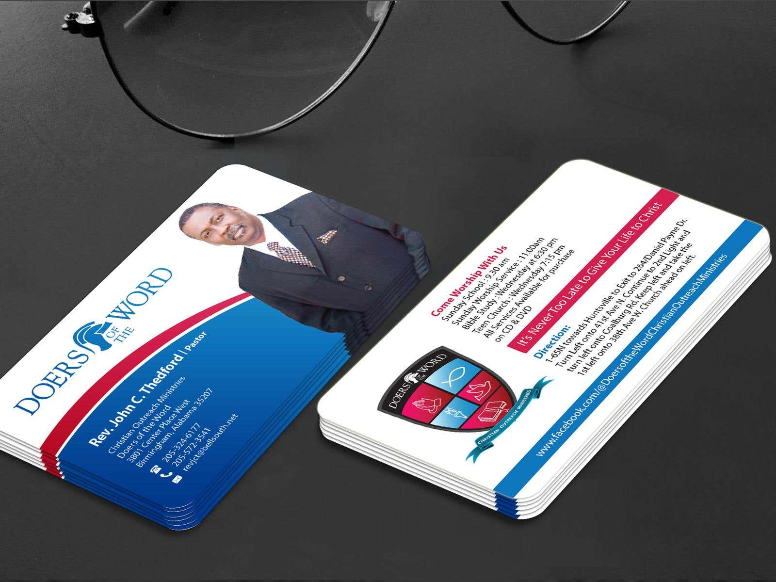 Design some business cards for church pastor freelancershowcase design some business cards for church pastor by mamun313 colourmoves