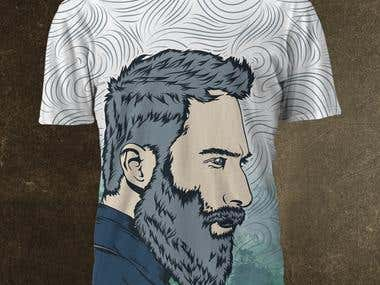 Imaginea lui Design Sublimation Shirt for our Brand.