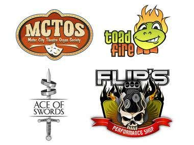 A collection of logos.
