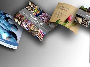 Images, banners, brochures,