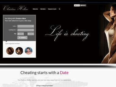 Dating Portal - http://ChristinaHilton.com