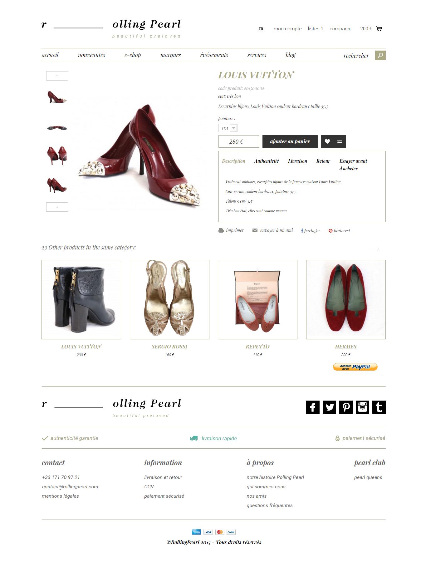 Shopping Website - Prestastore