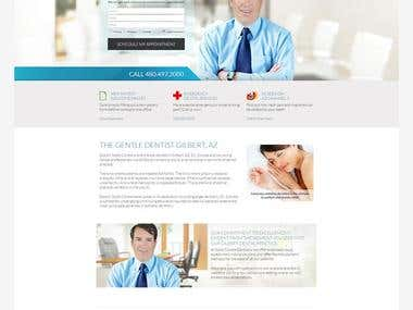 PHP responsive website.