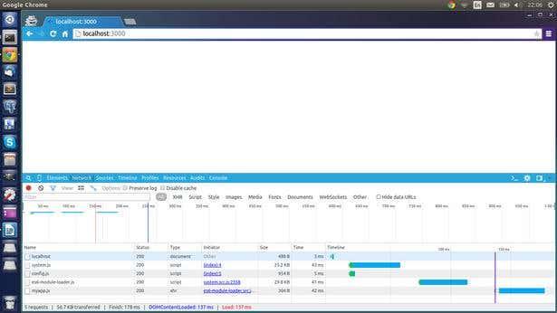 Chrome Developer Tools - Network Tab
