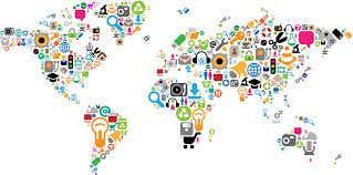 social media and portfolio sites