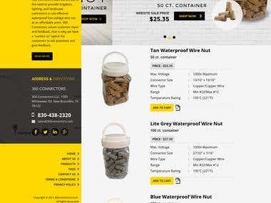 Magento responsive E-Commerce site