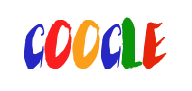 A mock-up of a potential Google logo with a serif font