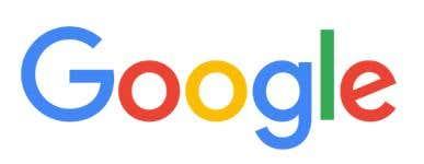 Google's current logo