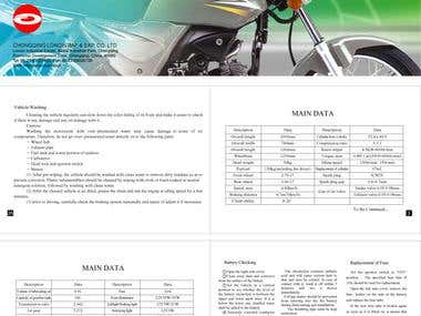 Here some automobiles importer and distributors brochure design which I created for them.