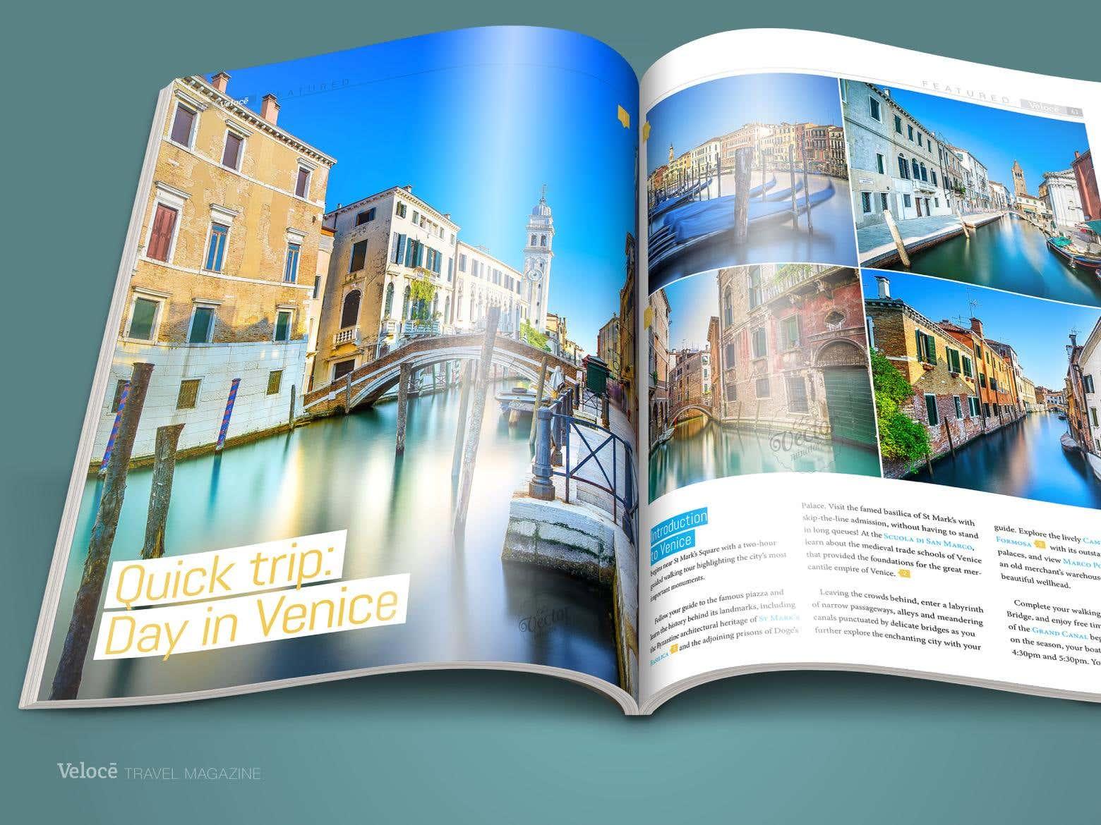 Magazine Layout Design Freelancershowcase