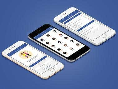 Spaycer Mobile App Design