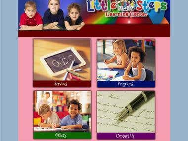 Daycare Website for Little Steps Daycare Screenshot thumb