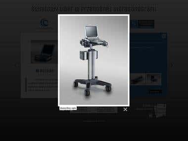 HTML/CSS/JQuery website for FujiFilm Sonosite Premium Brand.