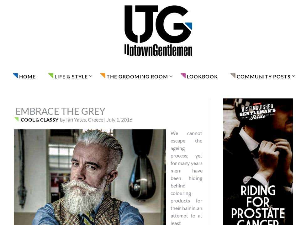 Articles For Men S Fashion And Lifestyle Website Freelancershowcase