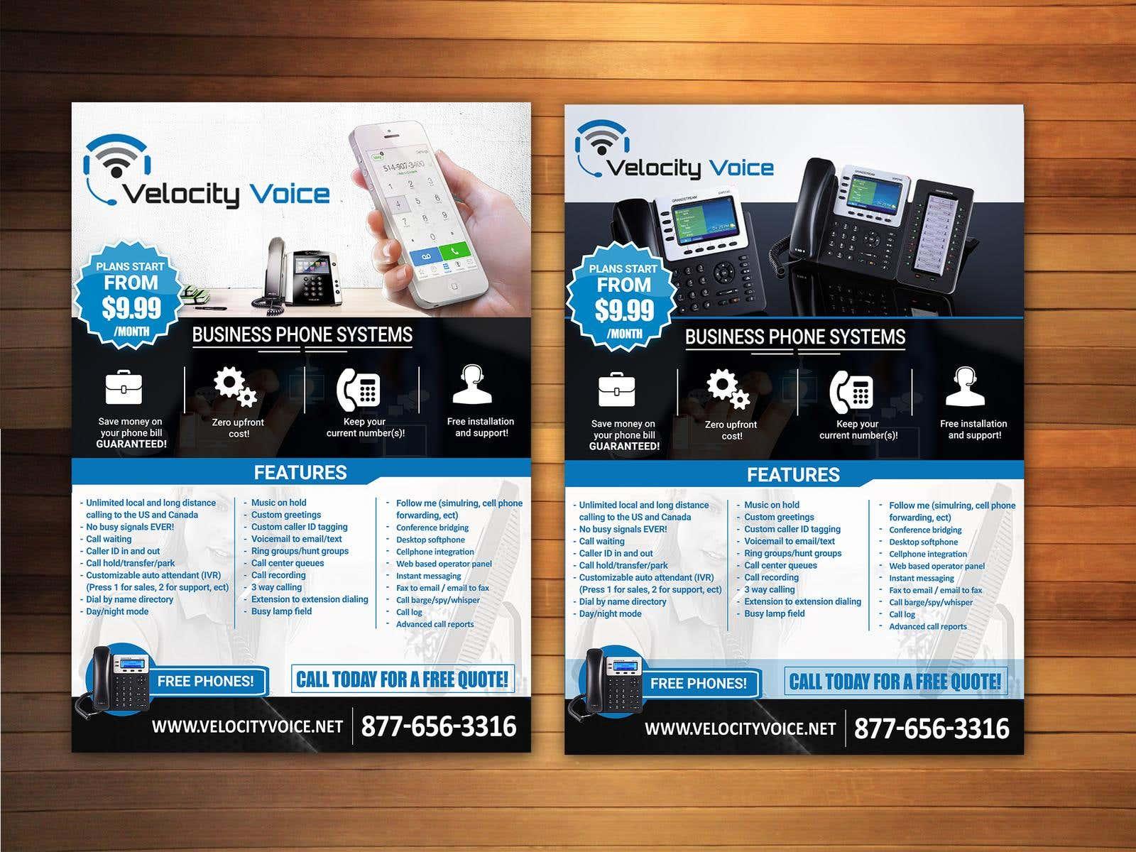 Design a digital flyer for business phone service provider design a digital flyer for business phone service provider velocity voice by vivid creative design m4hsunfo