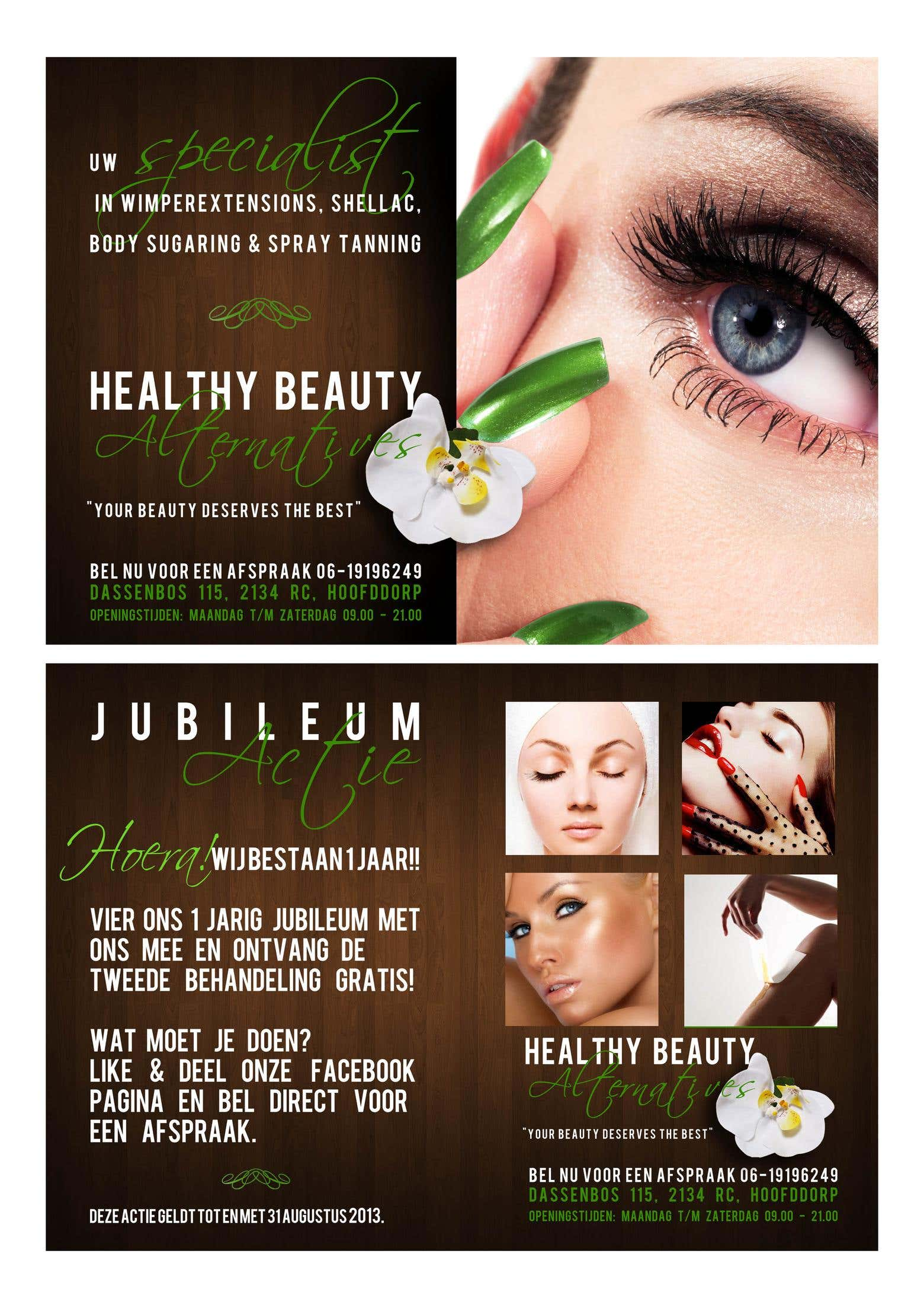 0ece04b02b98bd Flyer design for beauty salon | FreelancerShowcase