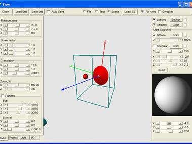 A Windows desktop application for viewing of 3-D images for research purposes. Written in Delphi.