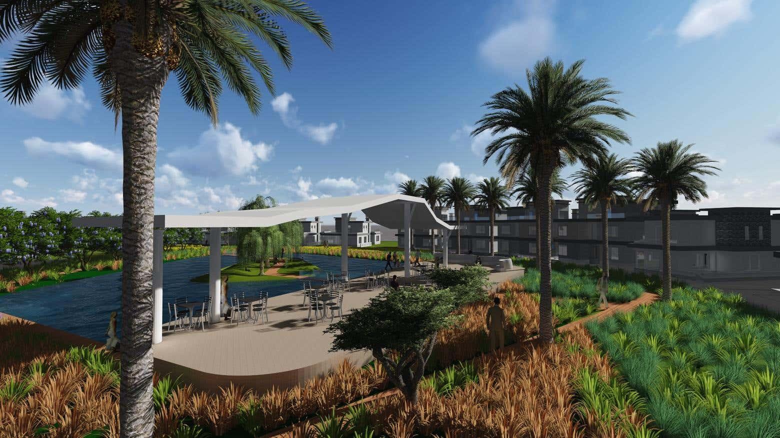 Public Garden Landscape Design
