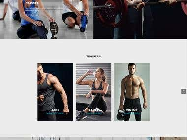 A UX optimised website designed for a fitness company. This design has a clean and modern look that is perfectly UX optimised.  Our client elected not to be disclosed.