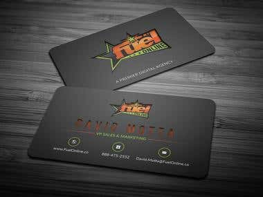 Die Cut Business cards