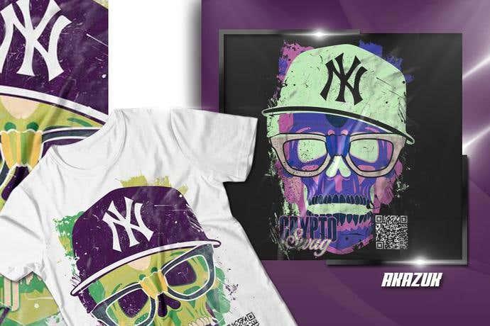 QR code t-shirt design