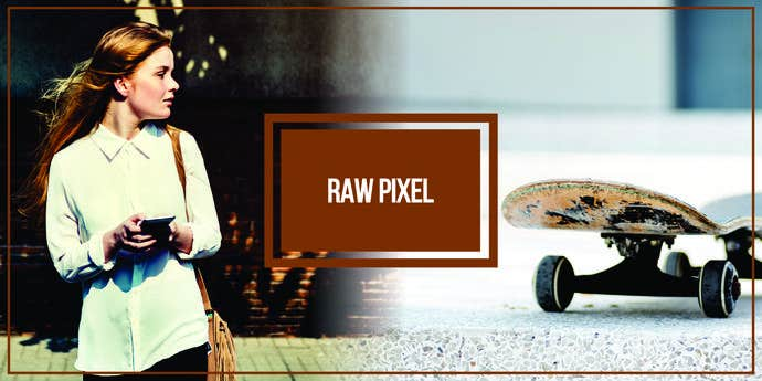 Two free, awesome pictures taken from Raw Pixel