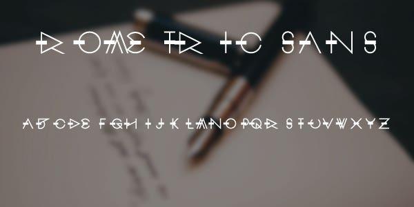 Rometri Sans Free Font
