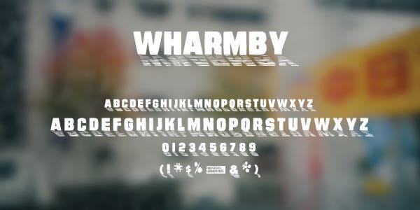 Wharmby Free Font